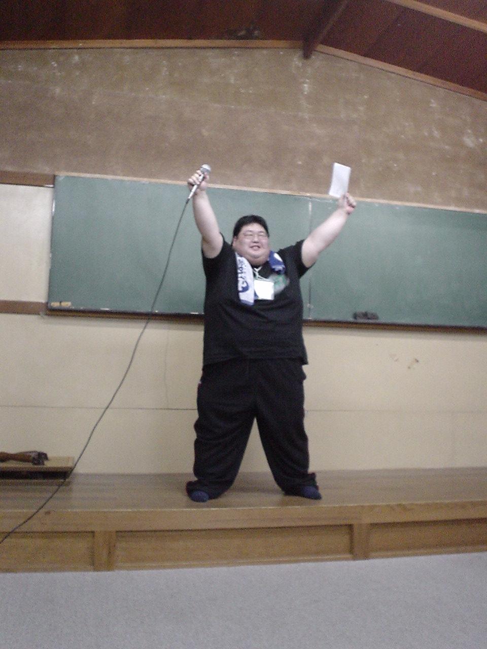 DAINA☆CON19開催で満面の笑みの実行委員長